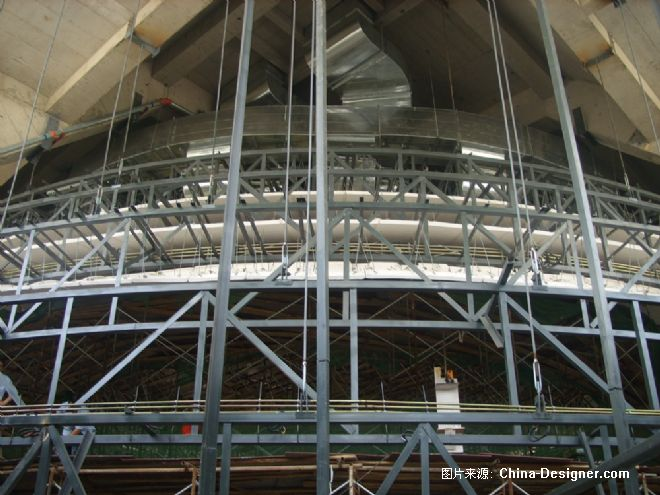 天狮集团宴会厅-沈双伟的设计师家园:::科锐钢结构的