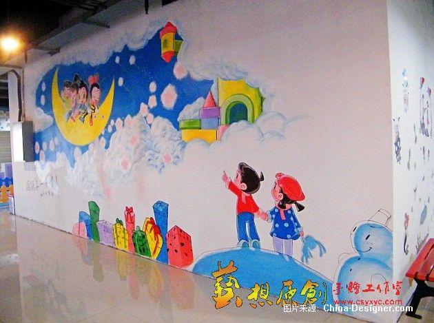 长沙定王台好乐比儿童商场-长沙艺想原创手绘工作室的设计师家园-艺想