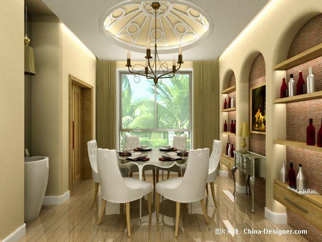 130平方住宅实-阿森的设计师家园:森图设   90平米房屋装修效高清图片