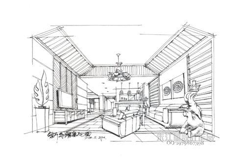西山汇景-朱江华的设计师家园-四居