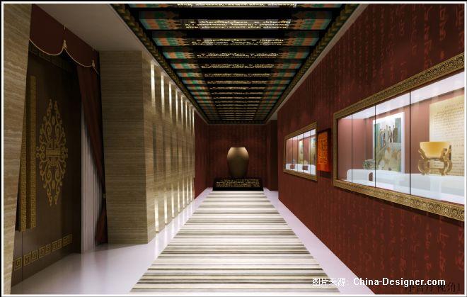 藏式风格设计作品-甘露藏药博物馆-阿森的设计师家园-藏族风格设计图片