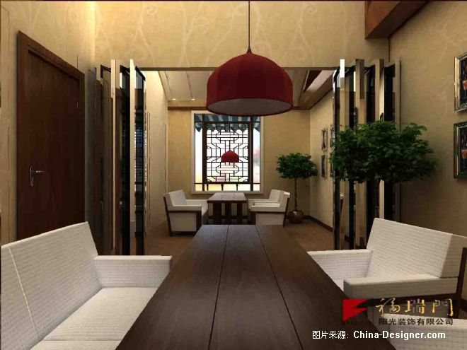 欧式咖啡馆手绘室内效果图