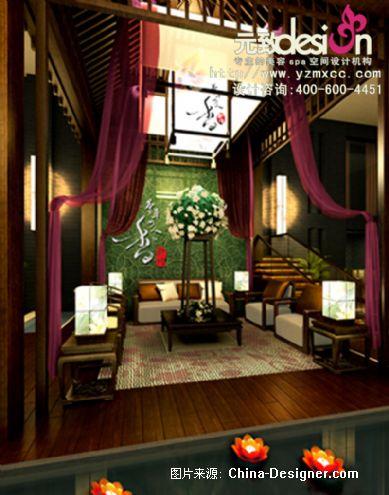设计师家园 spa养生会所设计,东南亚美容会所装修,医疗美容装