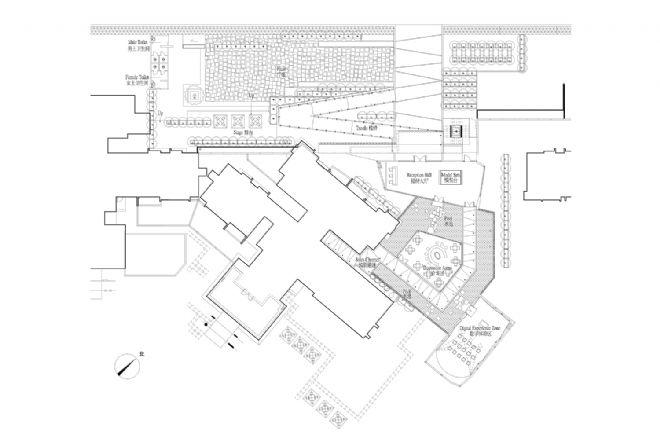 凯德置地御金沙项目临时售楼部建筑及室内设计-彭征
