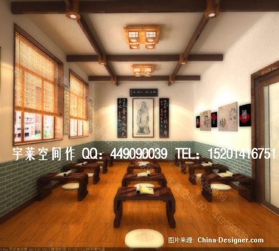 北京某国学教室设计项目-何宇莱的设计师家园-中式,10-20万