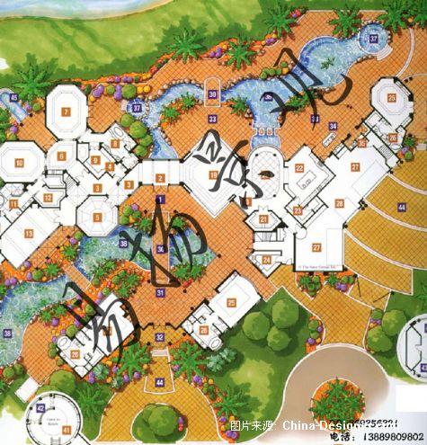 欧式花园设计-沈阳别墅庭院设计施工的设计师家园