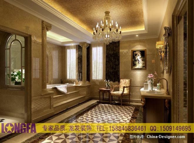 神仙树大院欧式装修效果图汇总-林传波的设计师家园-30-50万,跃层