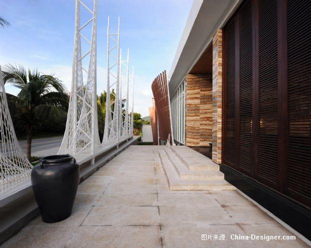 海南三亚半岛蓝湾接待会所-林宪政的设计师家园-现代,奢华,白色,100