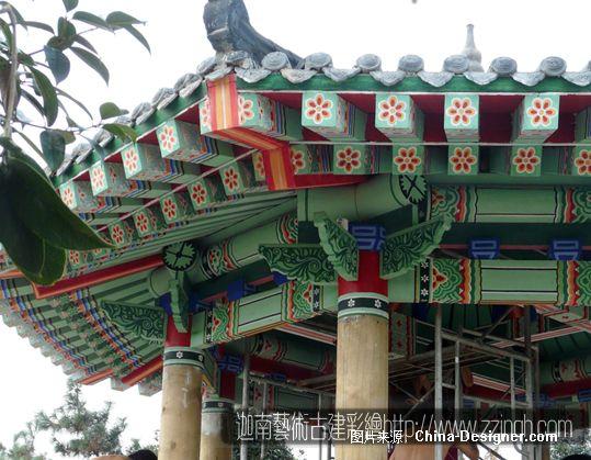 彩画-郑州手绘墙绘壁画装饰公司的设计师家园-新古典