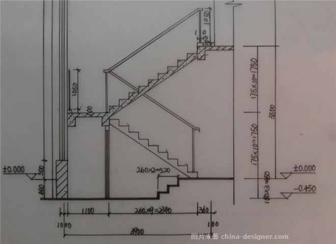 楼梯开关电路原理图
