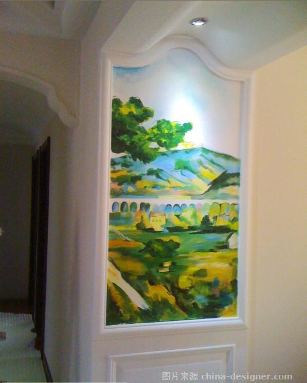 案例-聊城墙体彩绘绘制中心的设计师家园-现代欧式