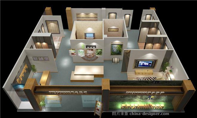 君木地板专卖店-陈志敏的设计师家园-展示空间
