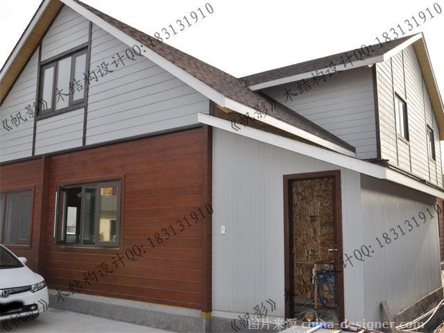 办公楼别墅帆影-罗祝明的设计师图纸:家园木结木屋别墅超级图片