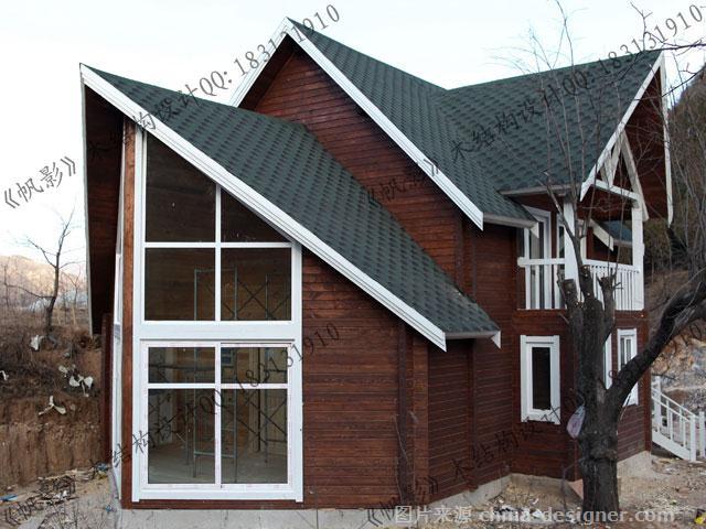木屋帆影v木屋001-罗祝明的设计师家园:别墅木别墅区德化图片