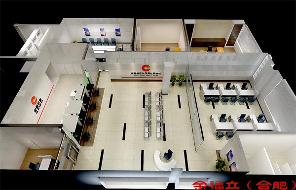 银行形象设计-安徽余福立室内设计有限公司-余福立的设计师家园-大堂