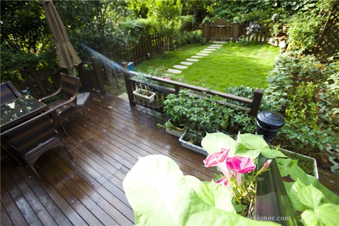 杭州西溪山庄-管杰的设计师家园-欧式,联排别墅