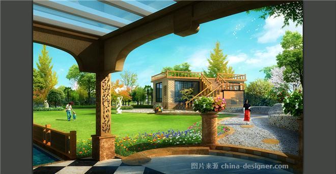 保利公园198别墅景-张丹的设计师家园:园之韵缙云浙江乡村别墅图片