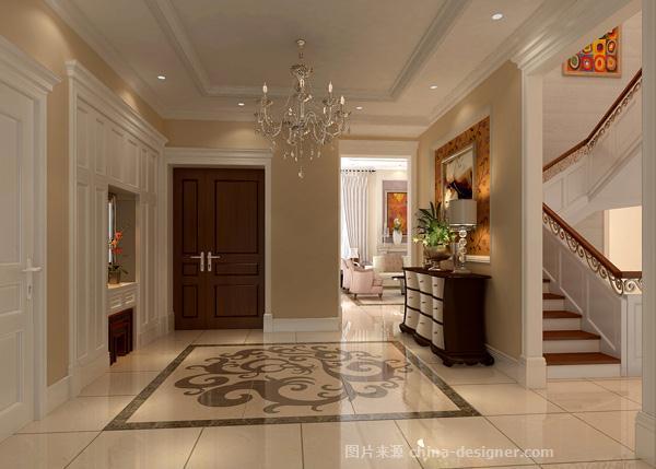 龙湾别墅设计-门厅