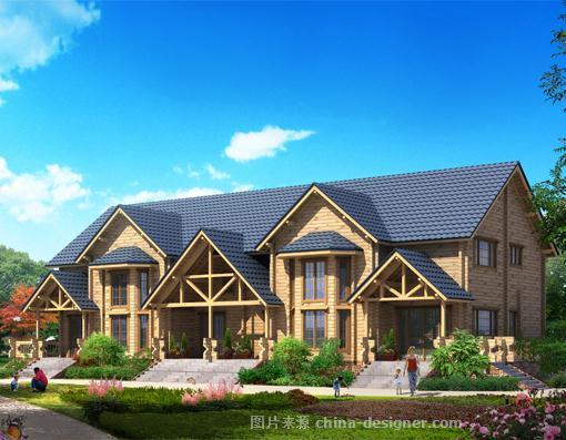鄂尔多斯闽南子木屋别墅家园公园湿地-刘强的设计师木屋-别墅别墅项目层三红海图片