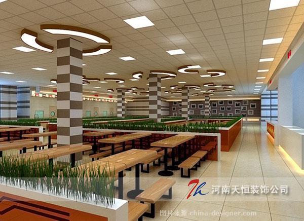 河南美食城装修设计-郑州天恒装饰工程背景企业墙广告设计图片图片