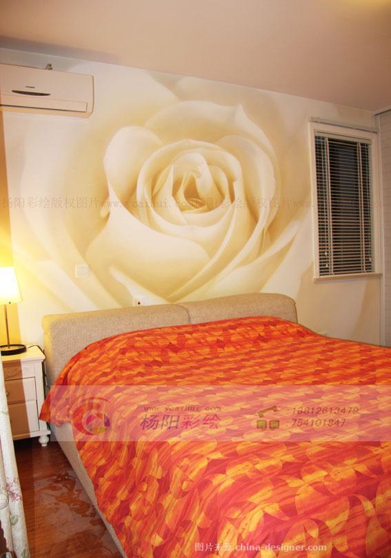 无锡卧室墙体彩绘-手绘墙绘出浪漫居室-杨阳的设计师家园-无锡手绘墙