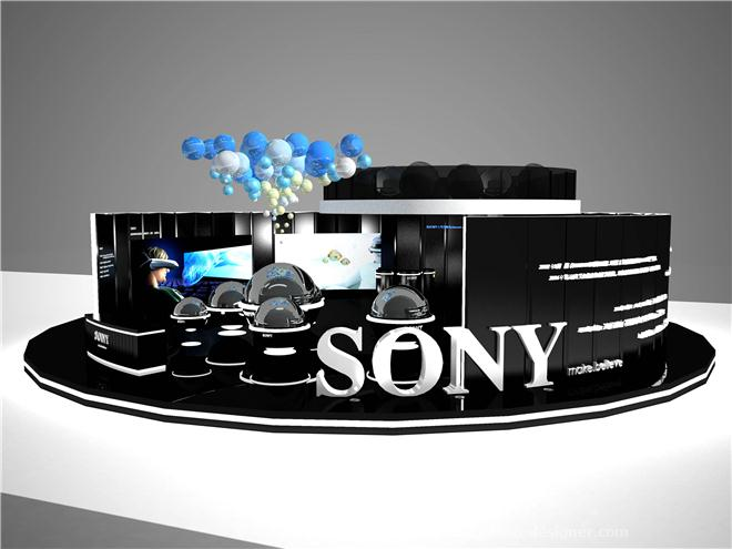 索尼展示设计-杨文静的设计师家园:杨文静石家庄北林园林设计图片