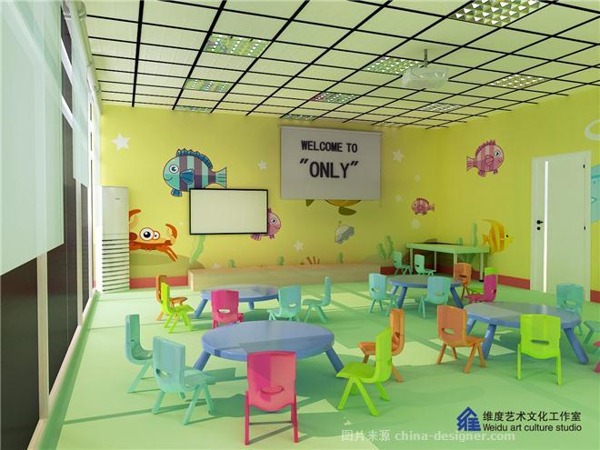 昂立教育大教室设计图   昂立教育前厅设计图