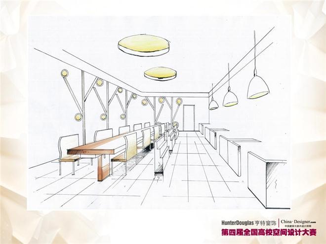 咖啡厅效果图