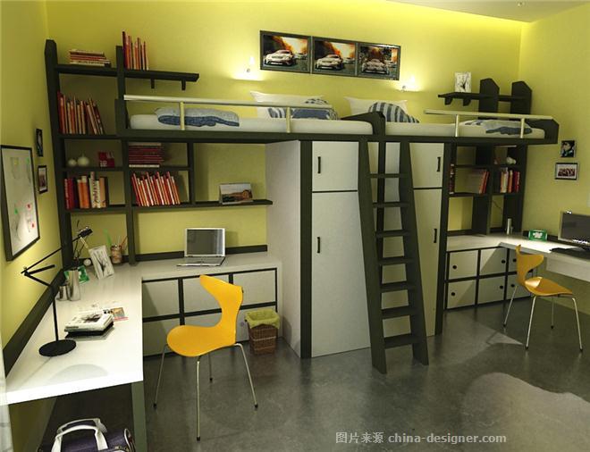 大学生宿舍单元设计-潘虹的设计师家园-谁动了你的寝室?