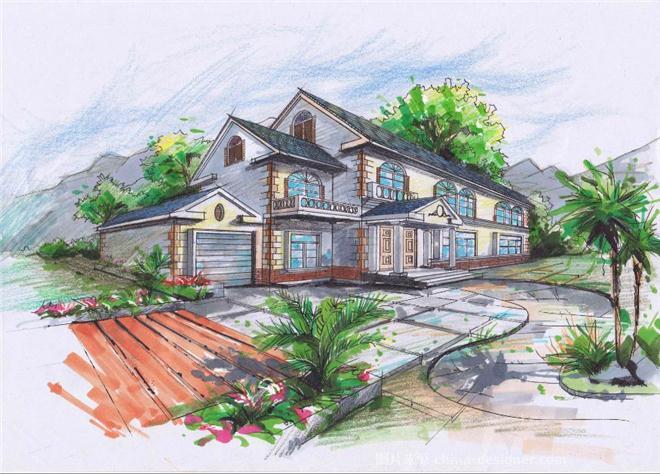 别墅设计作业-王忻磊的设计师家园-独栋报告2007后京别墅别墅海北年中评估项目图片