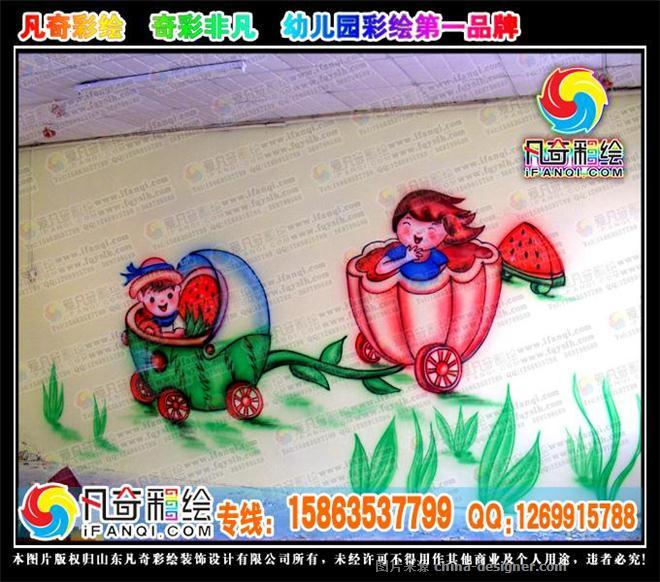 幼儿园彩绘,幼儿园墙体彩绘,幼儿园手绘壁画,聊城幼儿园彩绘
