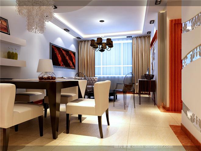 现代红色美人鱼 婚房设计 姜翼龙的设计师家园 婚房设计高清图片