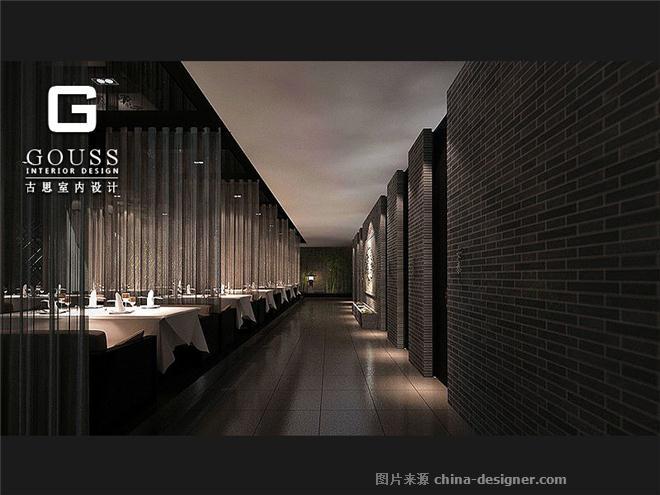 017酒楼走廊装修设计图片