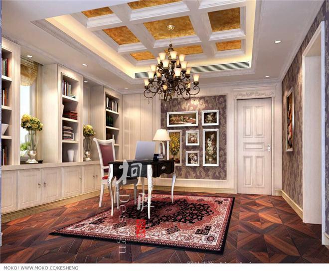 万端荣的体即兴-柯胜于的设计师家园-古典欧式,北边欧干风,当代当世欧式,独栋佩墅图片