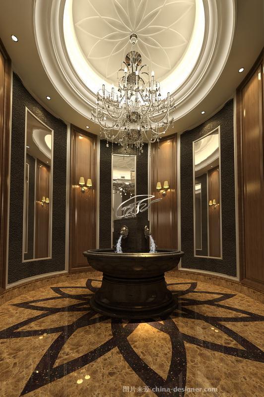 琥珀-简欧风样板间--张东梅的设计师家园:::华辰国际