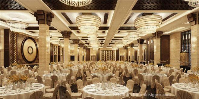 南充通旺集团食品体验馆-谢鹏飞的设计师家园-新中式,中餐厅/中餐馆图片