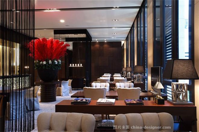 杭州绿城桃花源别墅 刘鹏的设计师家园 现代欧式,空中别墅