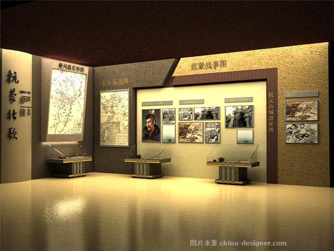 奉节白帝城博物馆-米春艳的设计师家园-展览空间,展示空间