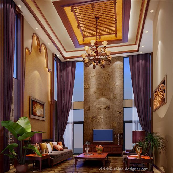 东南亚风格别墅 李林锋的设计师家园 独栋别墅