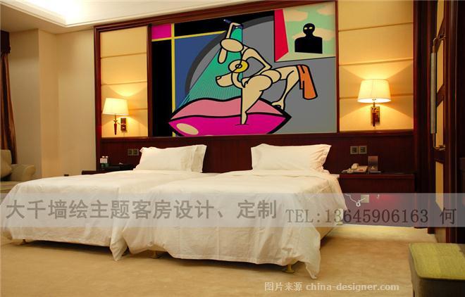 主題客房波普藝術1100-何少哲的設計師家園-家庭旅館
