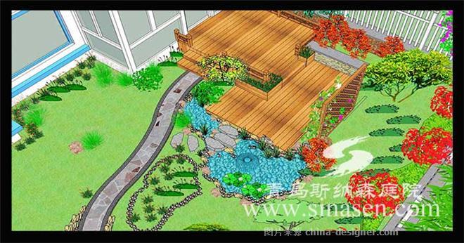 青岛瑞士花园庭院设计案例-青岛斯纳森园林有限公司的设计师家园-新