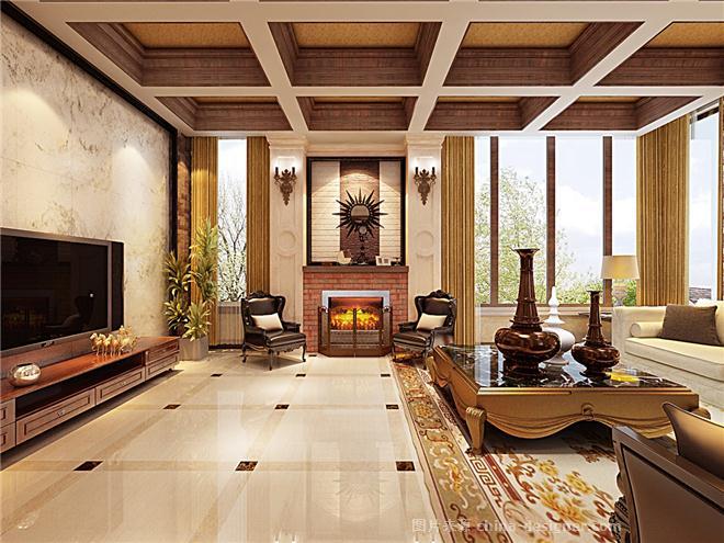 昆明野鸭湖别墅-邵登虎的设计师家园:邵登虎的室内设计a3排版图片