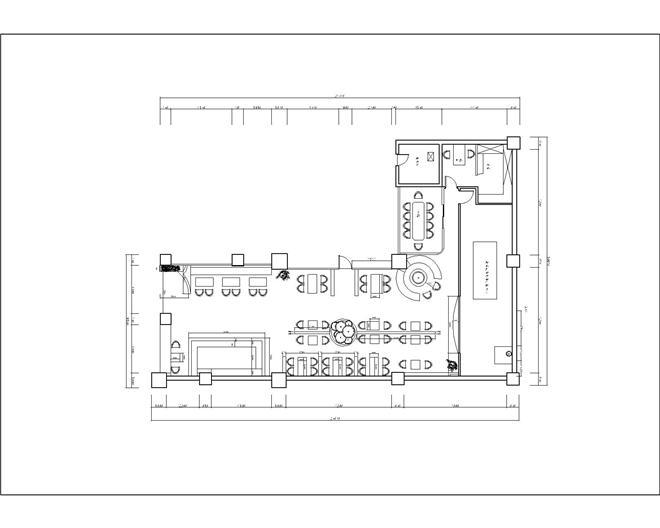 西安钟楼世纪金花罗斯特休闲吧-徐一舒的设计师家园-咖啡厅/咖啡吧图片