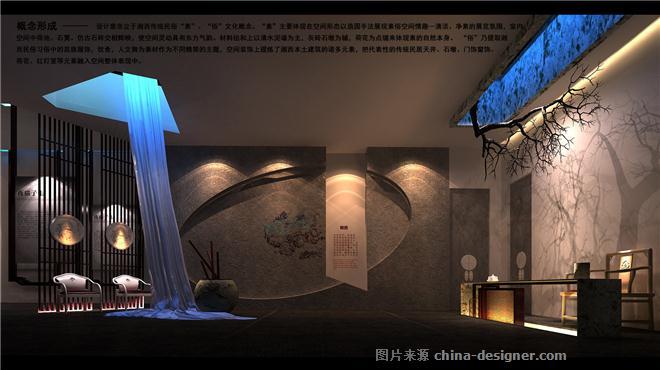 《边城-湘西民俗文化展览馆设计》-闫召夏的设计师家园