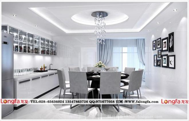 黑白灰现代装修设计,黑白灰室内装修图片-龙发装饰有限责任公司的设计