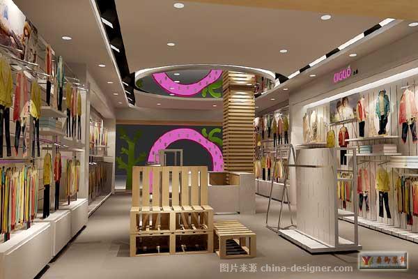 儿童服装店面装修-广州鼎御装饰工程有限公司的设计