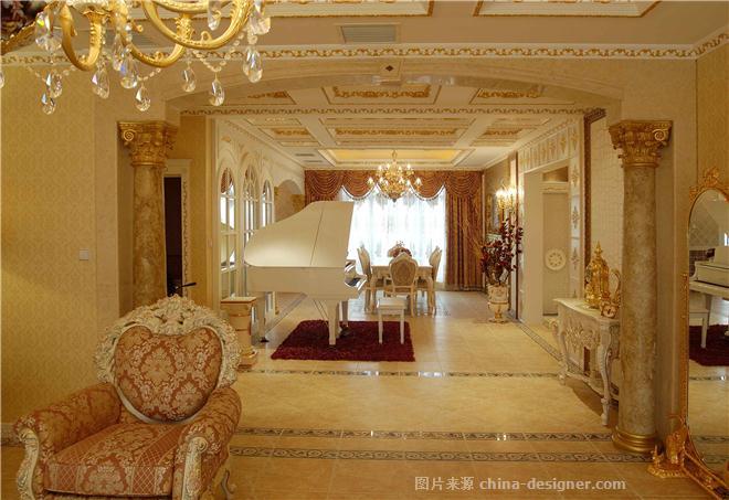 土豪别墅设计-熊洪森的设计师家园-古典欧式