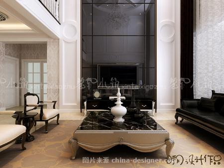 简约欧风——葫芦岛住宅设计-呼玥的设计师家园-阁楼