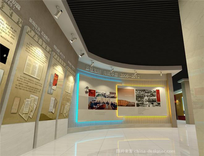 贺州学院校史馆-刘乐的设计师家园-画廊,展示空间,展览空间,展位,展厅图片