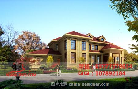 别墅外观效果图,杭州